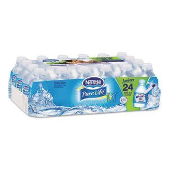Pure Life Purified Water, 8 Oz Bottle, 48/carton, 2880/pallet