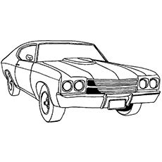 chevelle coloring pages - photo#16