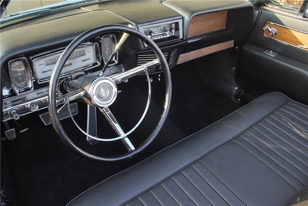 1962 Lincoln Continental 4 Door Convertible Interior 181590 Lincoln Continental Lincoln Lincoln Cars