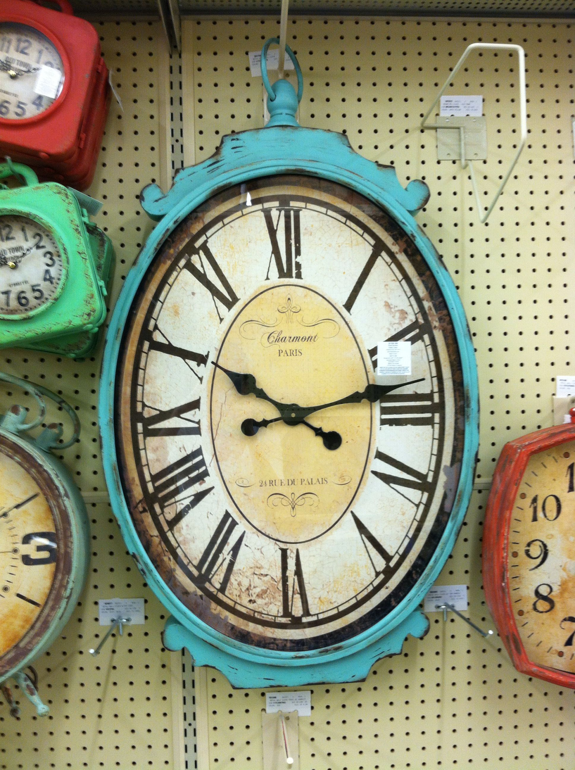 large wall clock at hobby lobby with images large wall on wall clocks id=66877