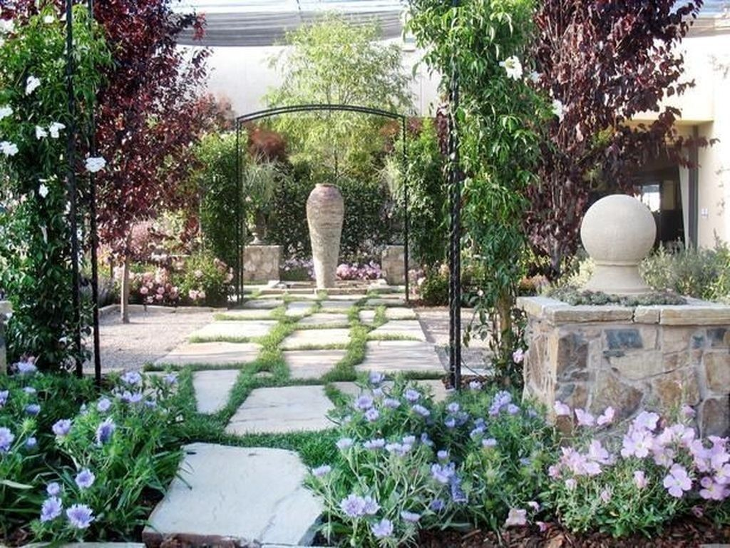 44 Brilliant French Country Garden Decor Ideas | French ...