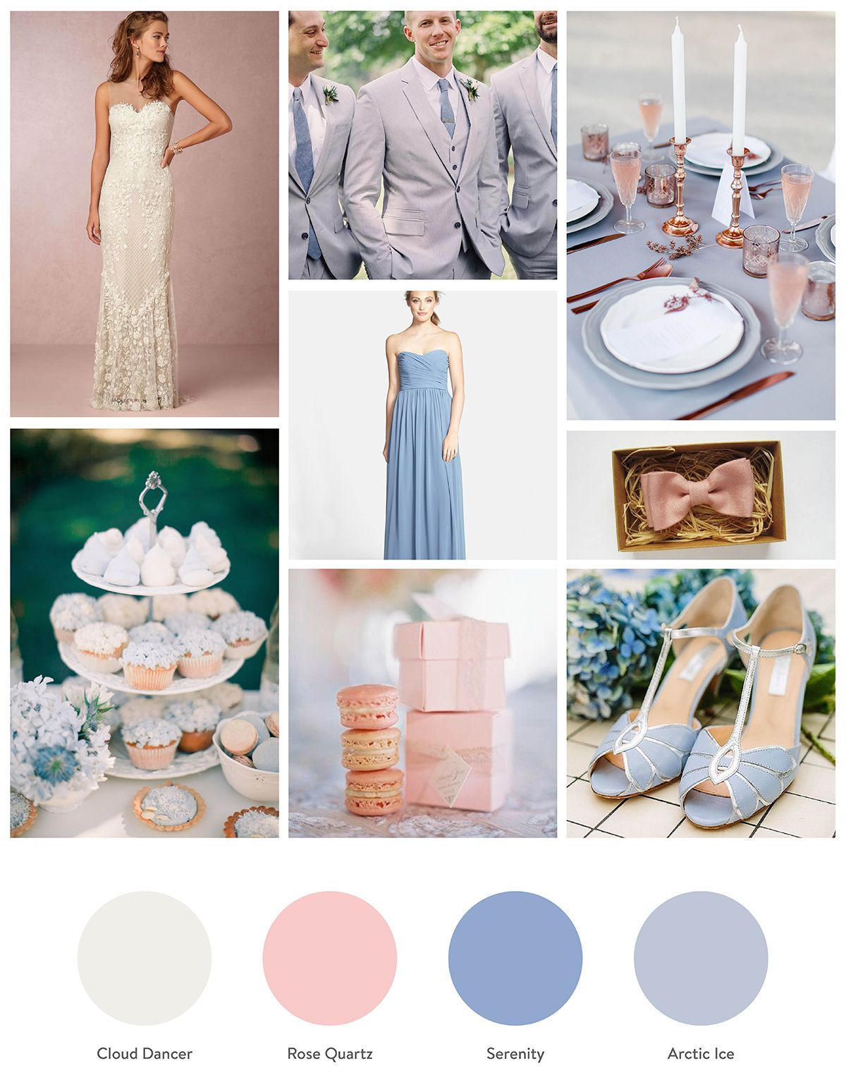 Hochzeit Farben Rose Quartz And Serenity Rose Quartz And Serenity Pantone
