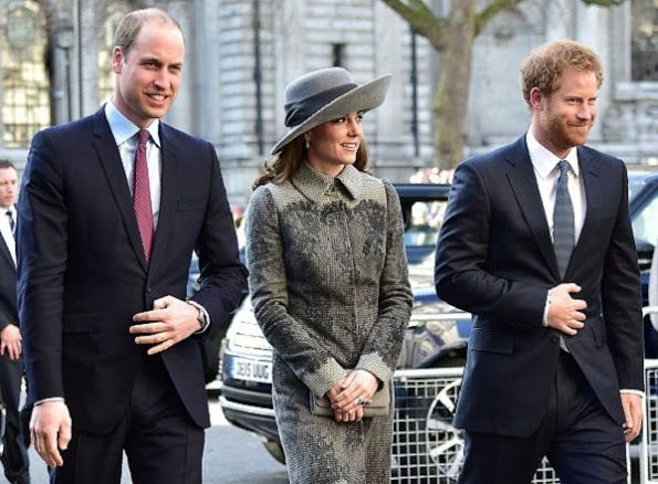 Catherine, Duchess of Cambridge attend the 2016 Commonwealth Service