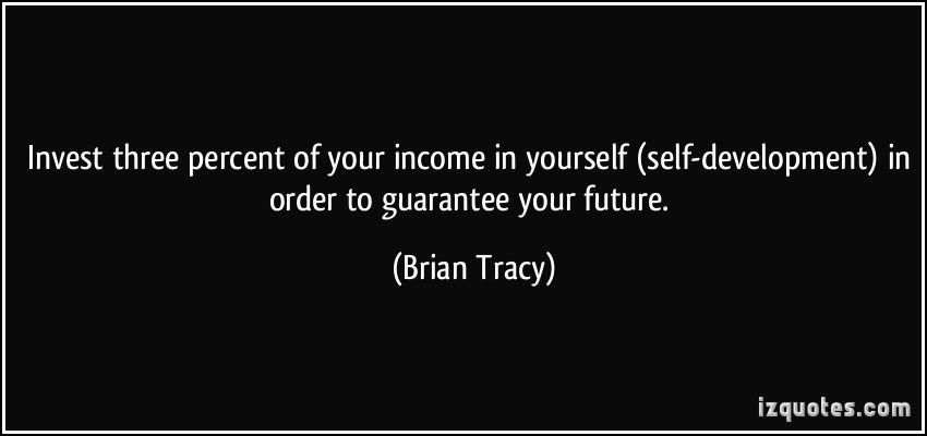 Invest three percent of your income. #selfdevelopment #future #positivethoughts #workfromhomelifestylebusiness