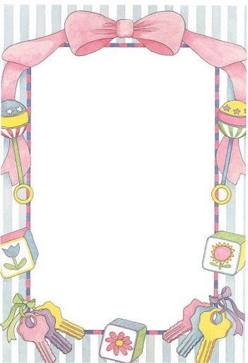 Cute Baby Frame ~ | etiket | Pinterest | Baby frame, Babies and Clip art