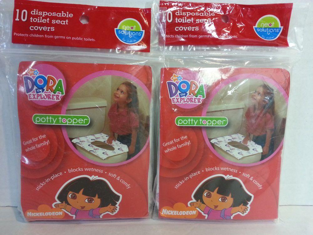 New Dora The Explorer Potty Topper Disposable Toilet Seat Cover