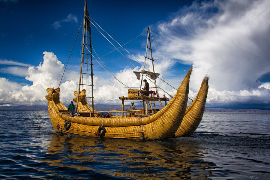 From the lake Titicaca, Bolivia