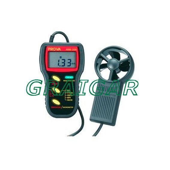 Free delivery - Free Shipping AVM-305 Wind Anemometer / Wind Speed Wind Meter