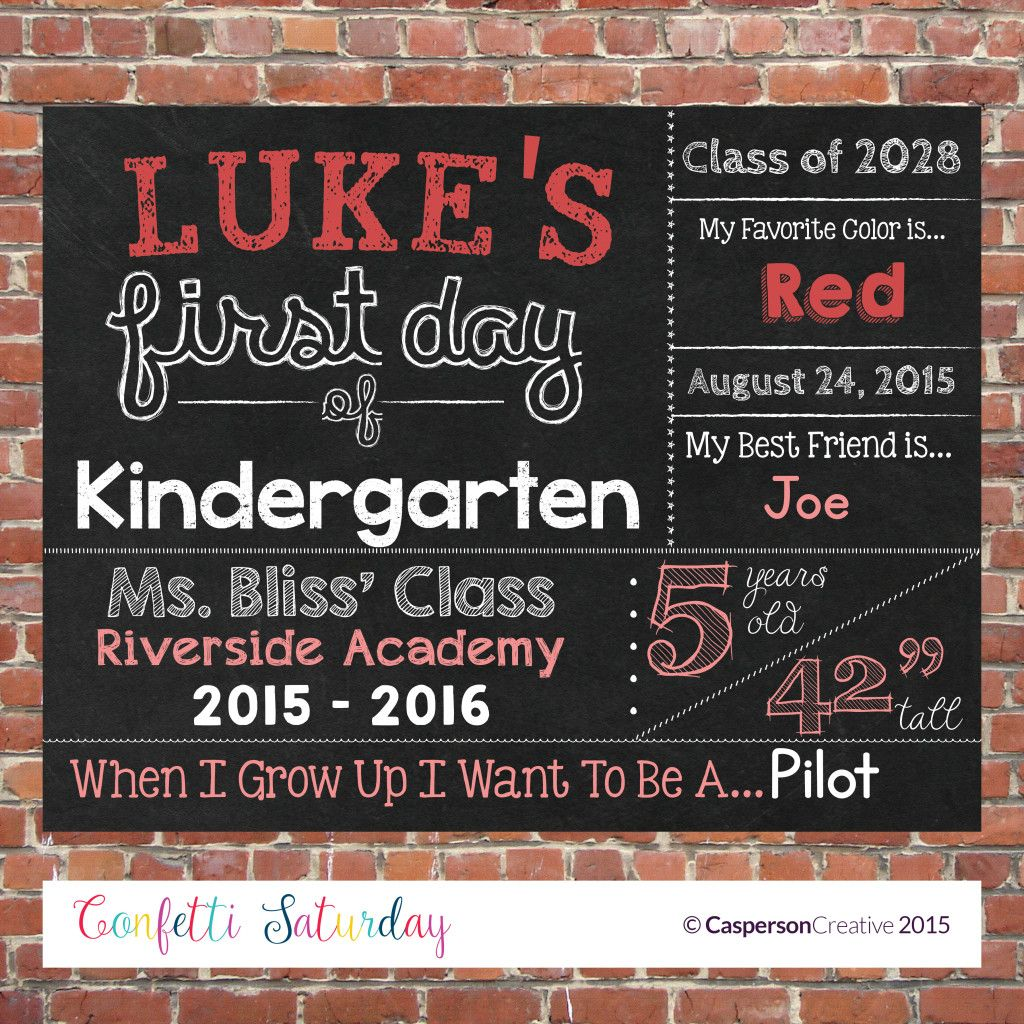 free printable templates for 1st day of school signs for boys google search
