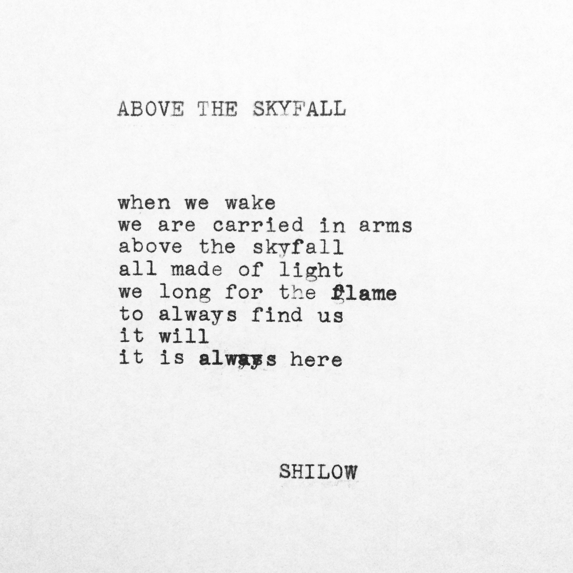 are poems in quotes