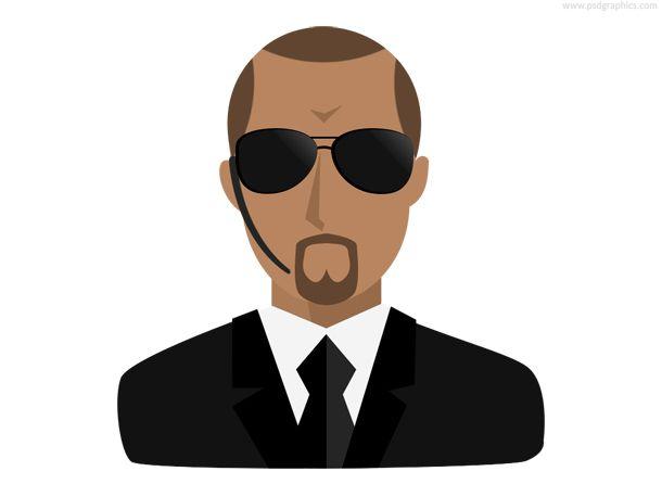 Bodyguard Icon Psd Icon Bodyguard Icon Set