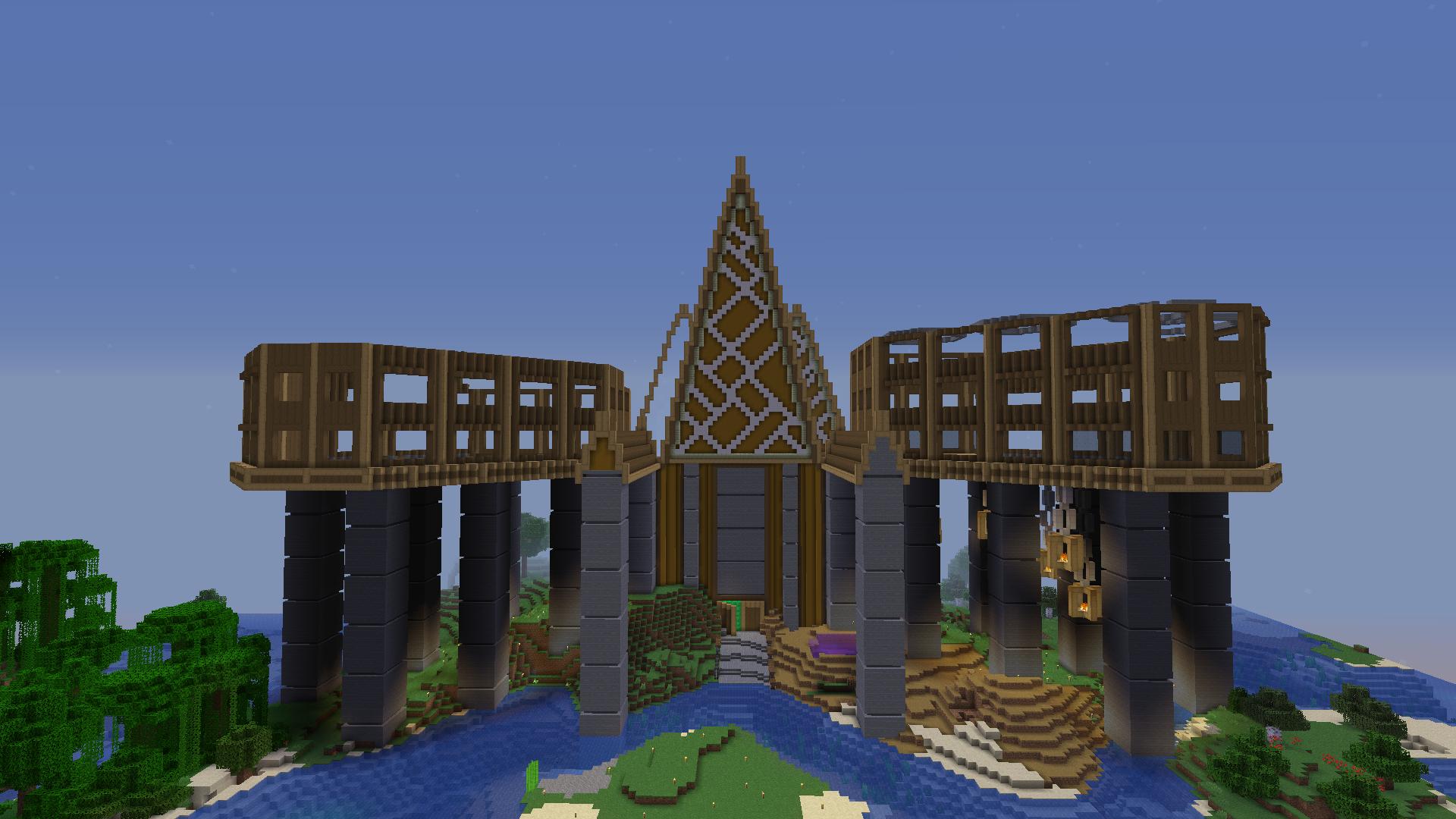 My Minecraft Survival Mega Base So Far What Do You Think By U Oppositegame Minecraft Survival Minecraft Survival