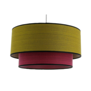 FLY suspension d38 moutarde fushia