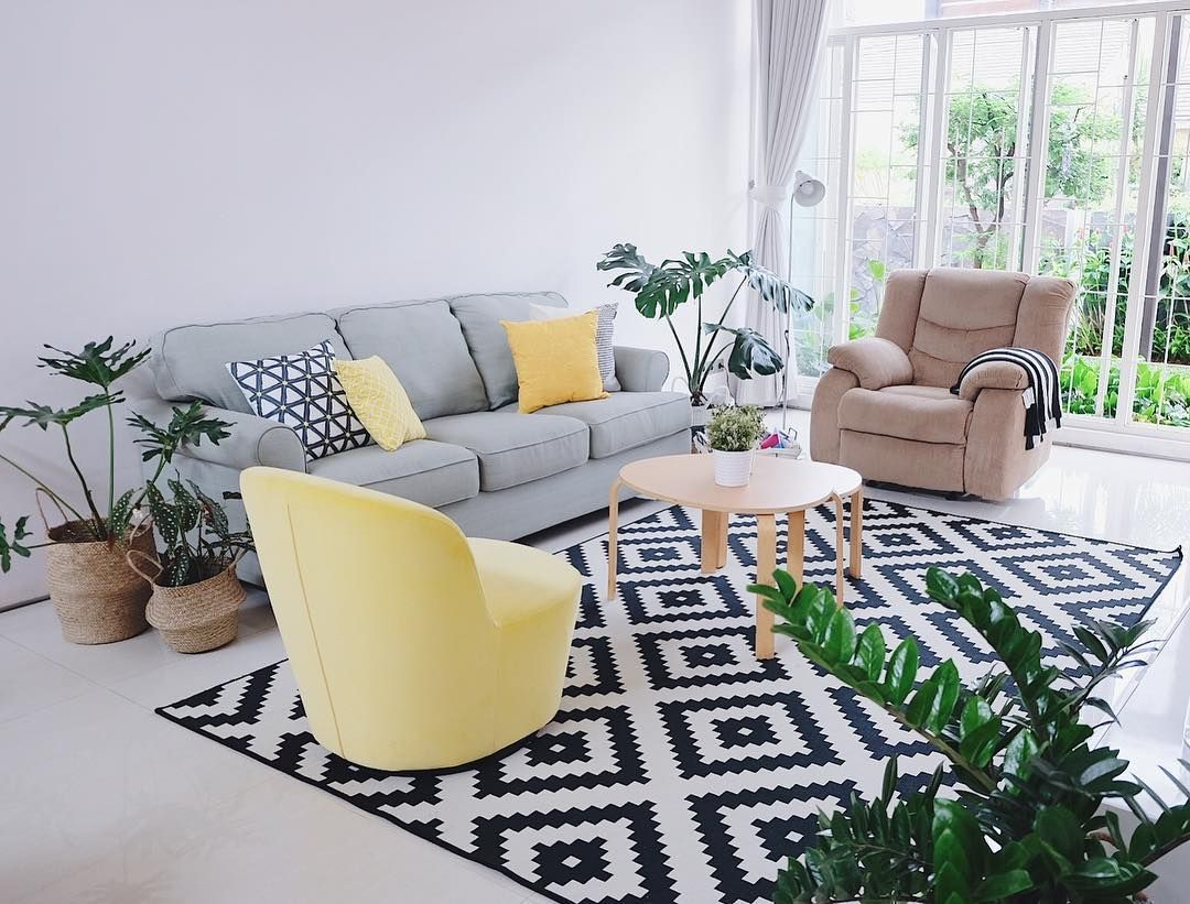 Warna Cat Putih Untuk Ruang Tamu Ruang Tamu Minimalis Pinterest
