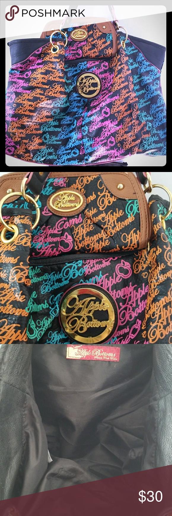 Applebottom handbag matching wallet shoulder bags spring summer