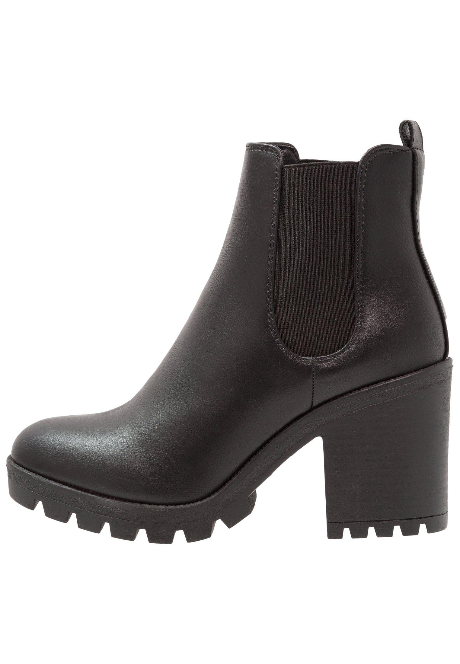 CLARA - Korte laarzen - black