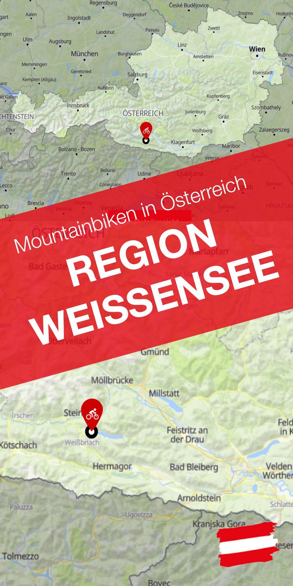 Mountainbiken Am Weissensee Inmitten Der Karntner Gailtaler Alpen Weissensee Alpen Radtouren