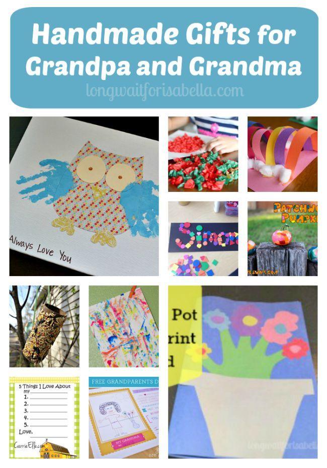 Preschool Crafts for Grandparents | Grandparents Day Craft Ideas | #FCBlogger
