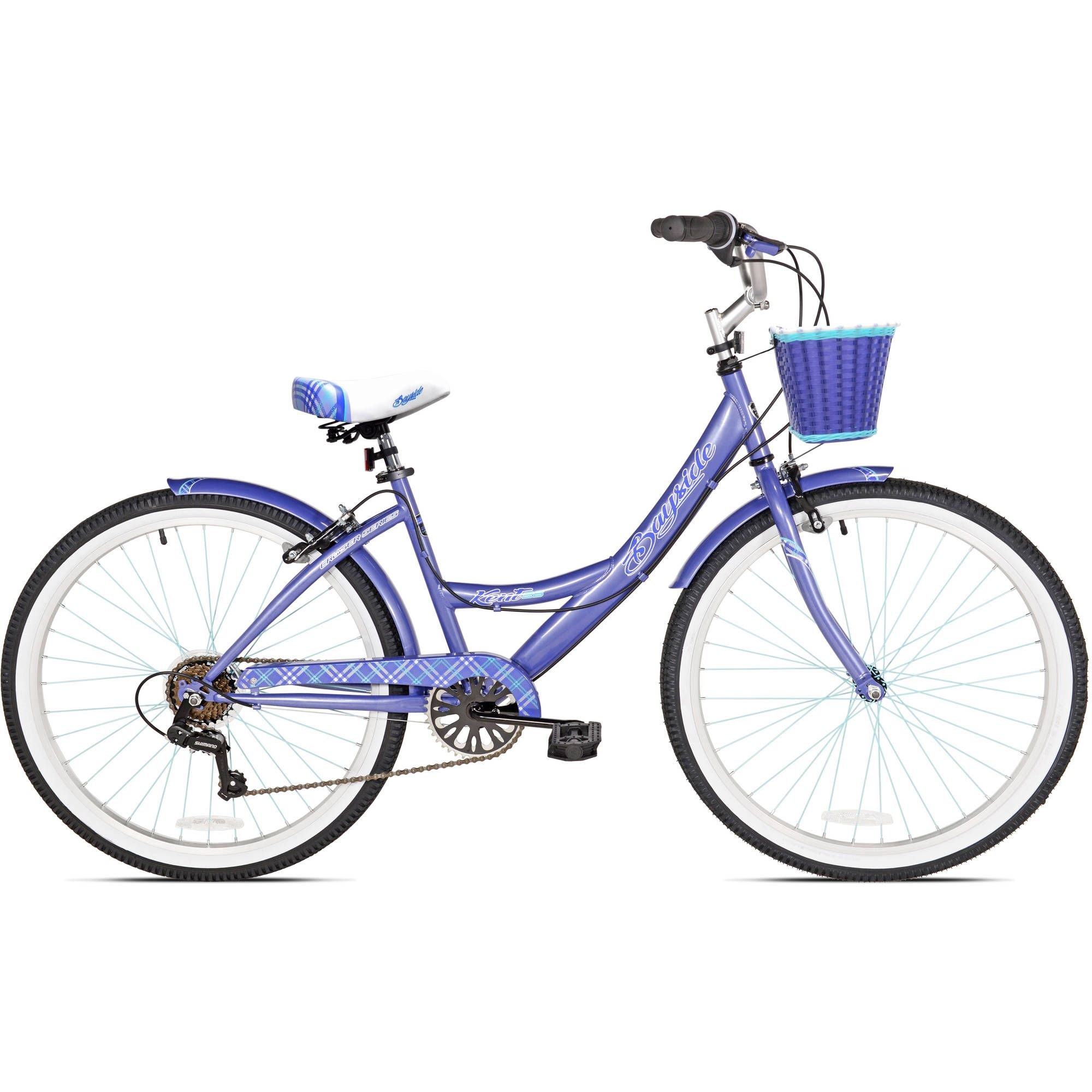 Kent 26 Bayside Women S Cruiser Bike Rose Gold Walmart Com Cruiser Bike Bicycle Bike Bicycle
