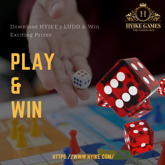 Download HYIKE's #LUDO & Win Exciting Prizes  #LudoGame #games