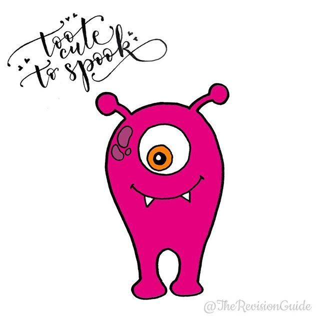 WEBSTA @ therevisionguide - Monster 12/30... Day 12 of #TRG_30daysofMonsters for October .. I'll be drawing 'too cute to spook' monsters during October  Join me if you'd like to and draw monsters with me .. ....#monster #cutemonster #halloween #halloween2016#doodle #doodleaday #howtodoodle #howtodraw  #cute #kawaii  #study #studyblr #studygram  #studyspo #studyinspiration  #planner  #inktober2016 #inktober #plannercommunity #plannergirl  #plannerdoodle #letteritoctober #bulletjournal #bujo