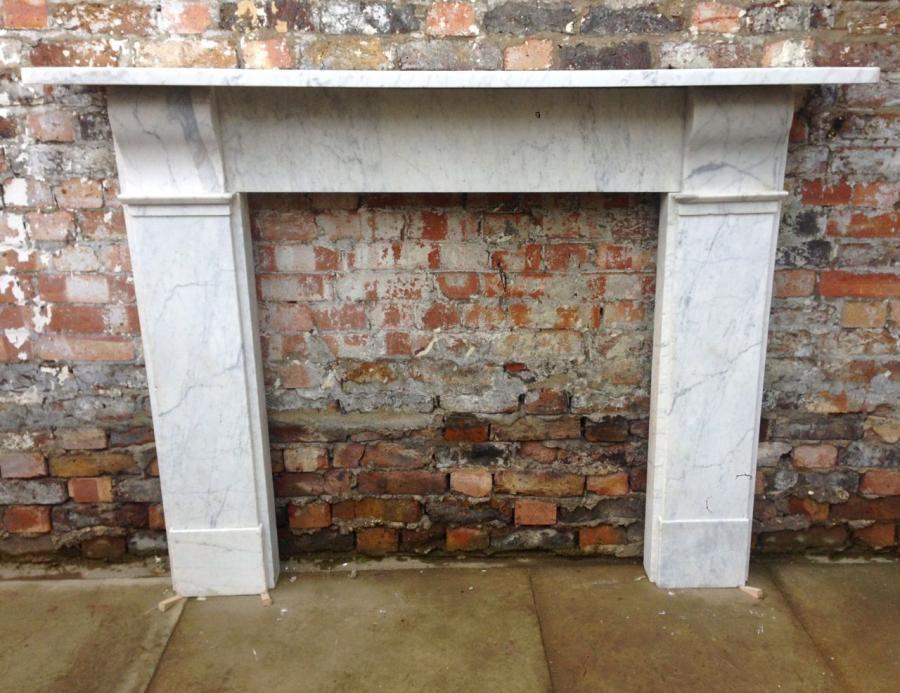 Victorian Fireplace Antique Victorian Carrara Marble Fireplace