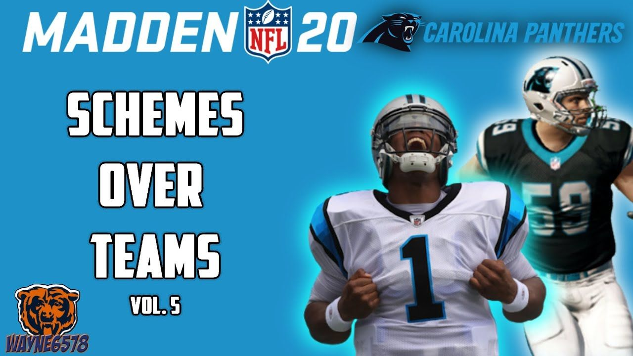 How To Win With Any Team Using Madden 20 Best Offensive Scheme Schemes In 2020 Madden Nfl Carolina Panthers Madden