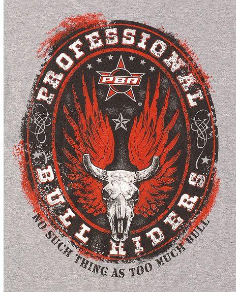 Wrangler Athletic Pbr T Shirt Pbr Bull Riders Pbr Bull Riding Bucking Bulls