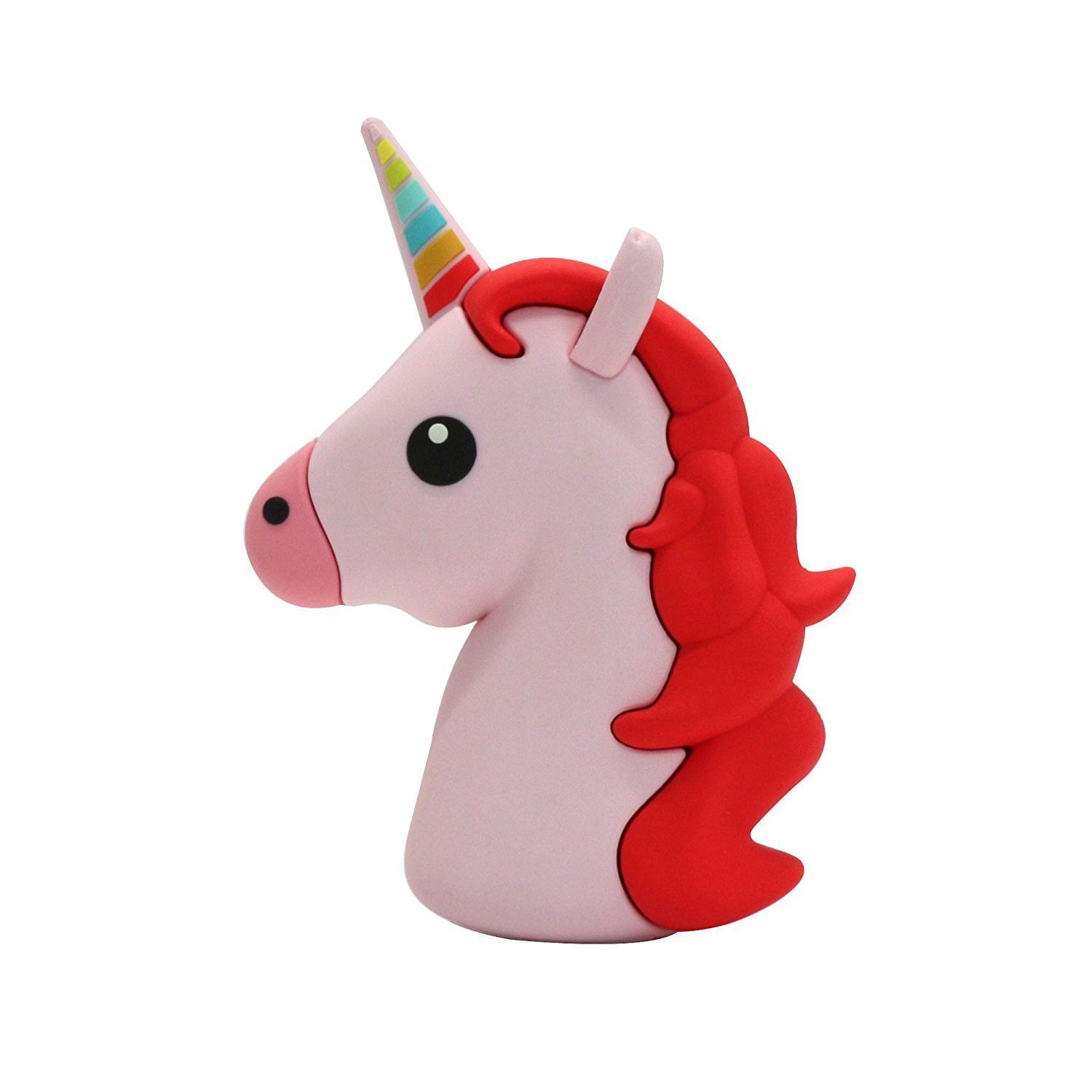 red unicorn portable charger portable charger unicorns and shell
