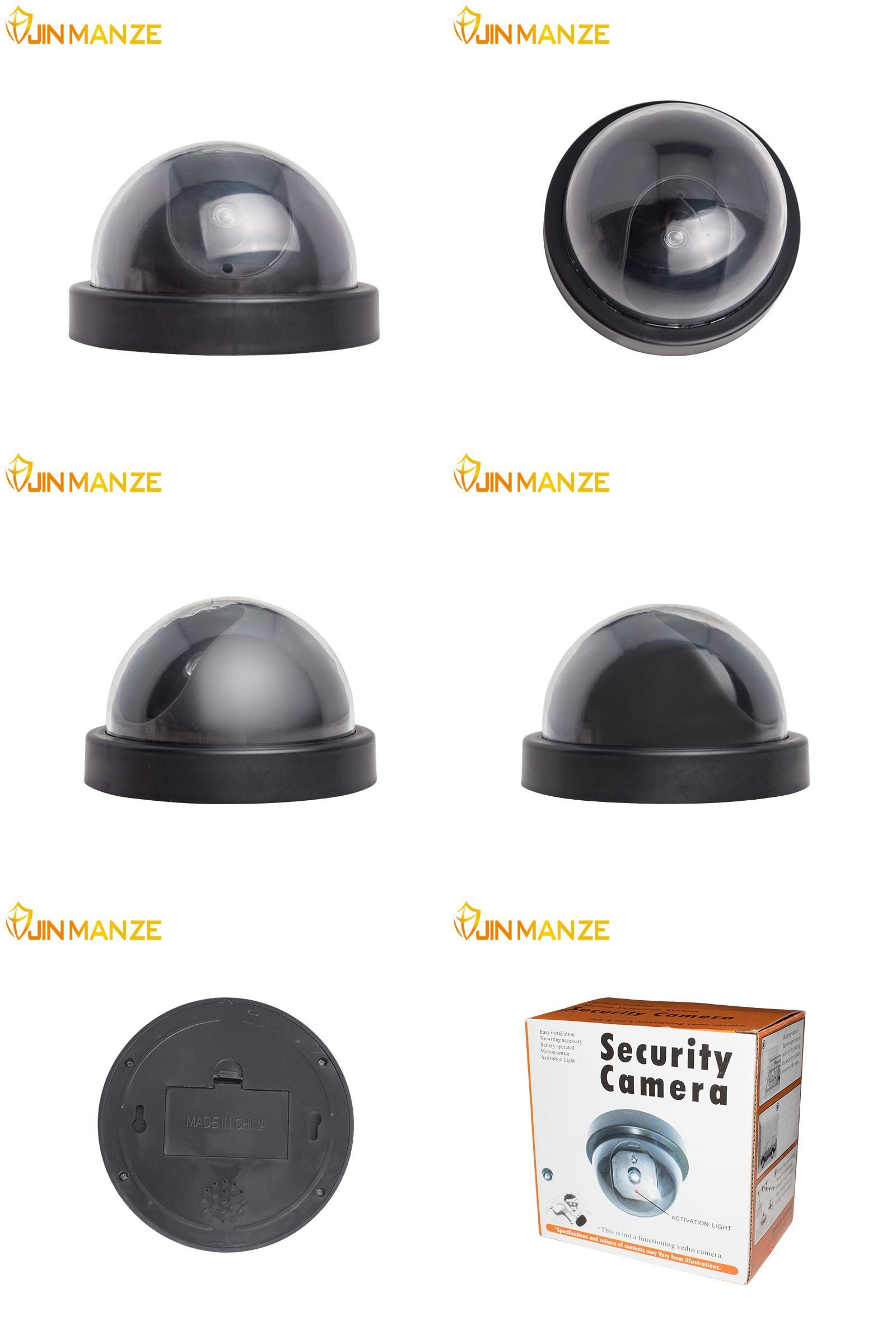 [Visit to Buy] Wireless indoor outdoor Surveillance Dummy Ir Led Fake dome simulation