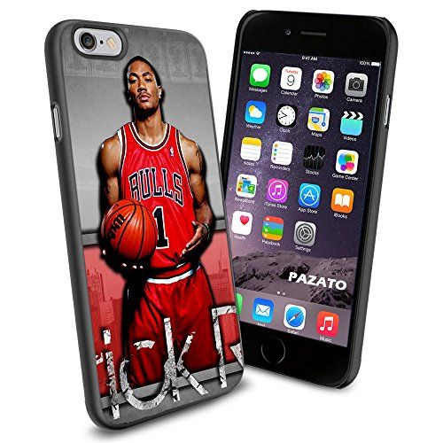 NBA Derrick Rose Chicago Bulls , Cool iPhone 6 Smartphone Case Cover Collector iphone TPU Rubber Case Black Phoneaholic http://www.amazon.com/dp/B00UA73OKQ/ref=cm_sw_r_pi_dp_qCInvb1BG1BV7