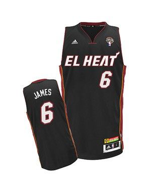 1baab9d1f adidas Revolution 30 LeBron James El HEAT Youth Swingman Jersey.  MiamiHEAT   LeBronJames