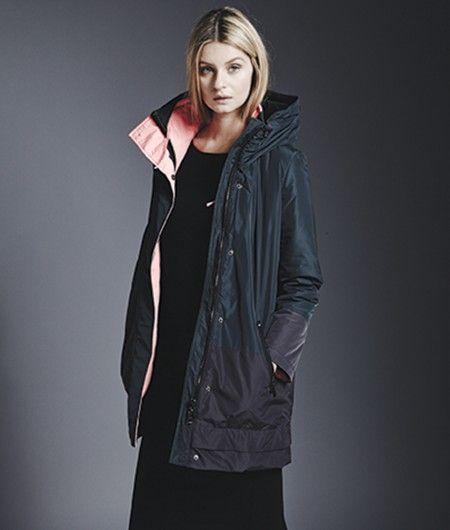 2 Anthracite Tone Reciclada Mujer Ecoalf Coat Prestashop Moda Abrigos Imatra Woman Ebony twWgFZ