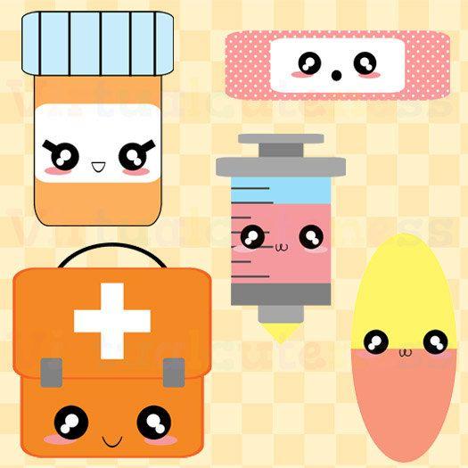Kawaii First Aid Clipart - Doctor Clip Art Medicine ...