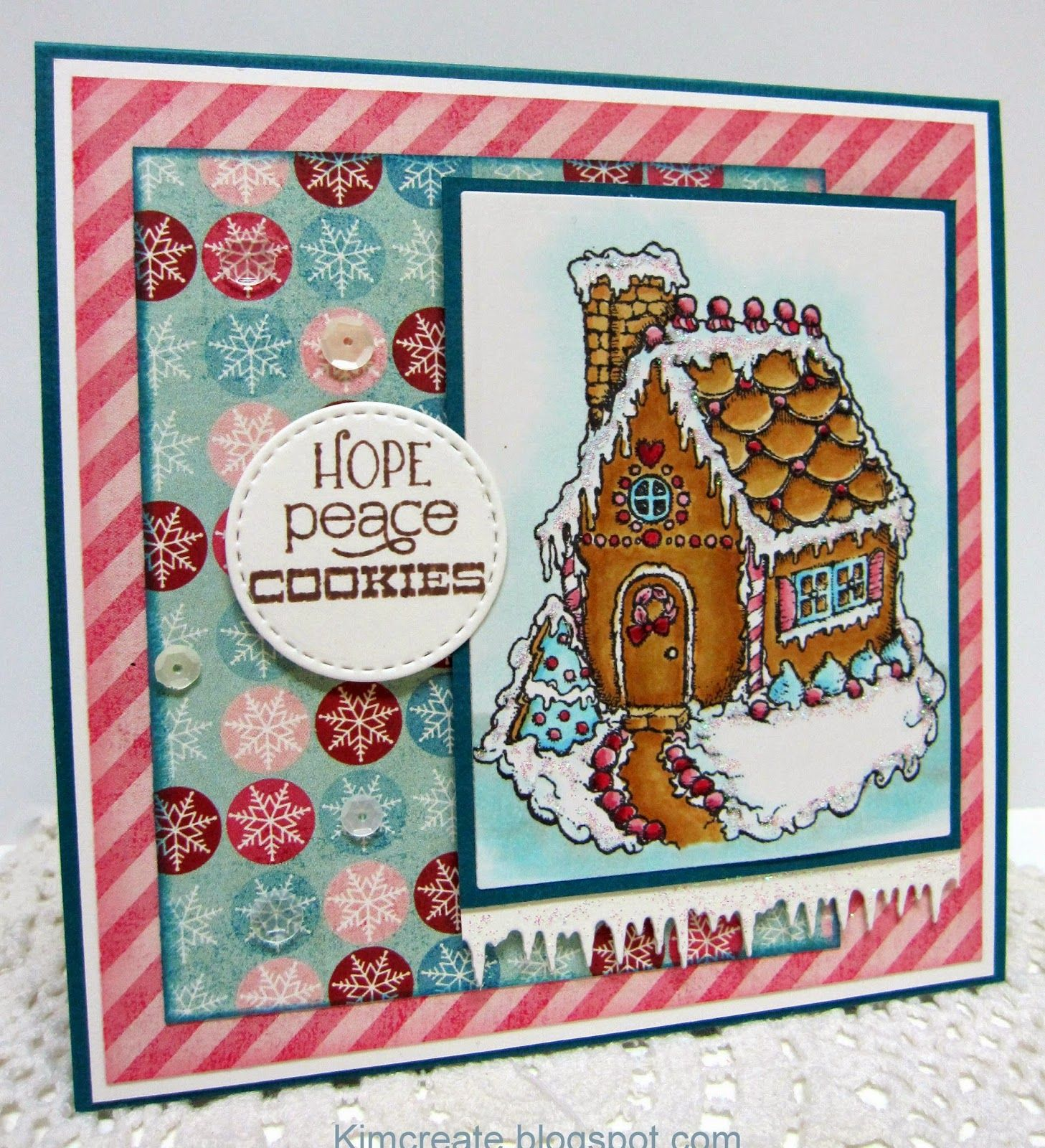 Kim s Cards & Crafts one of our latest Power Poppy Peeps of the