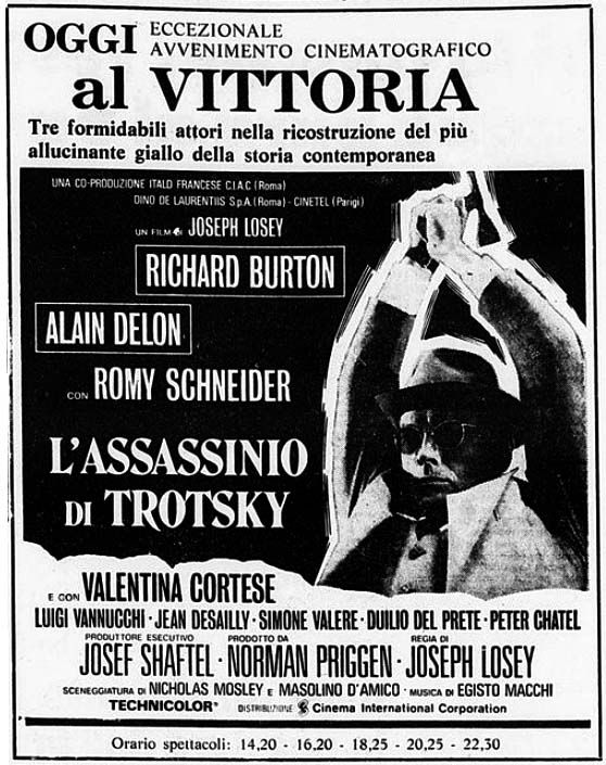 L Assassinio Di Trotsky 1972 Alain Delon Romy Schneider Film