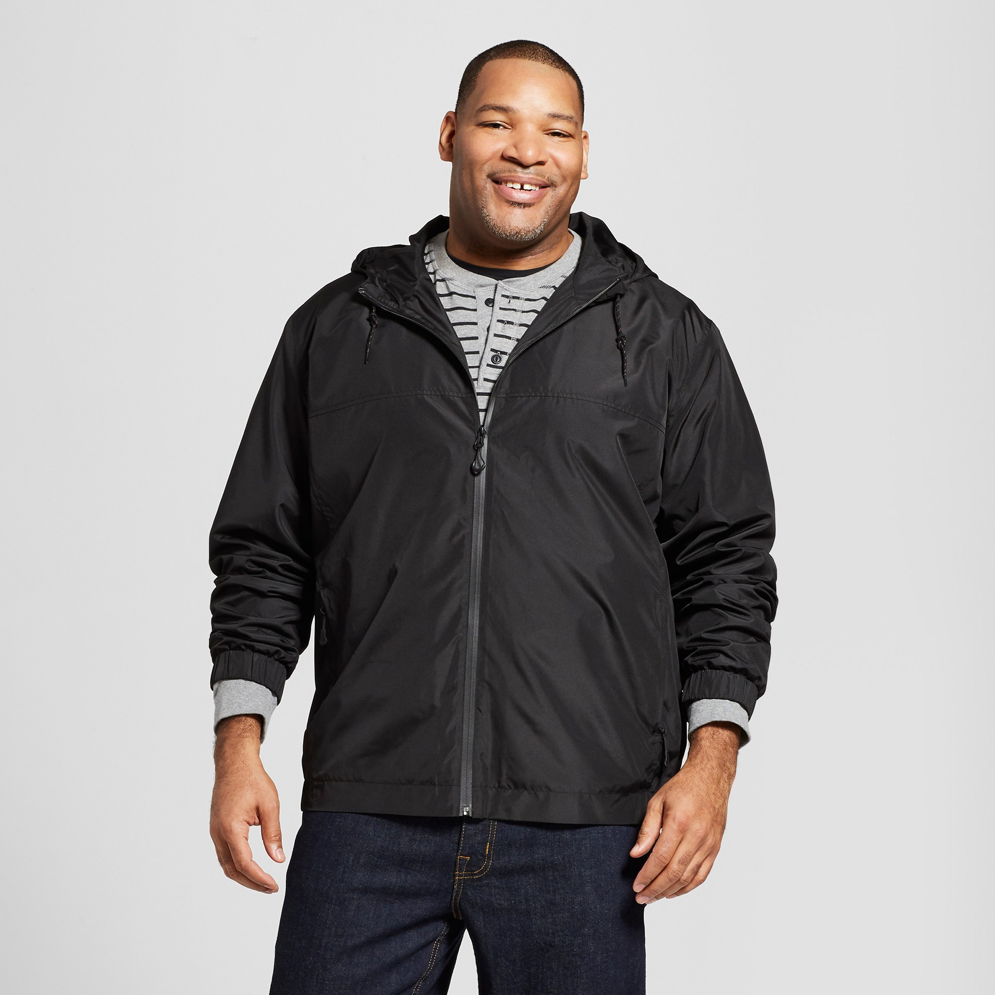 Men's Big & Tall Windbreaker Jacket Goodfellow & Co