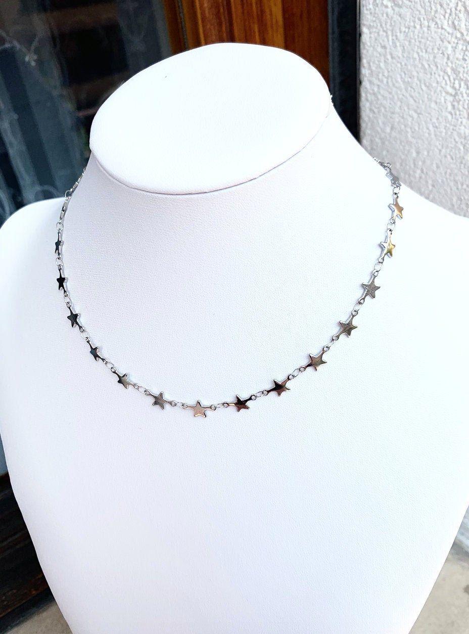 catena girocollo Collana Classica Fashion-Moda Naturale necklace donna