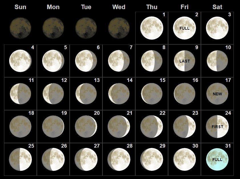 Full Moon Template Printable