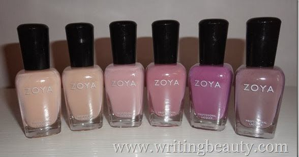 Zoya Urban Grunge Collections Swatch and Review - Naked