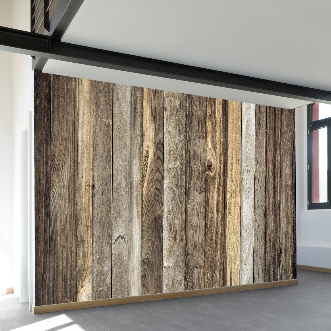 Wall Murals From Wallsneedlove Lifestyle Rustic Wood Walls Barnwood Wall Barn Wood Wall Decor
