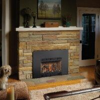 gas inserts hearth pinterest gas insert gas fireplace and