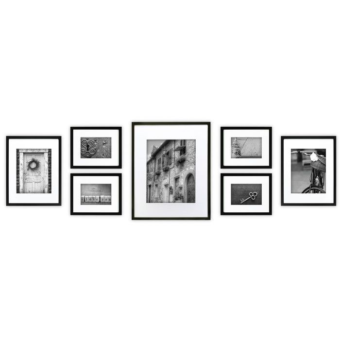 NielsenBainbridge Gallery 7 Piece Perfect Wall Picture Frame Set ...