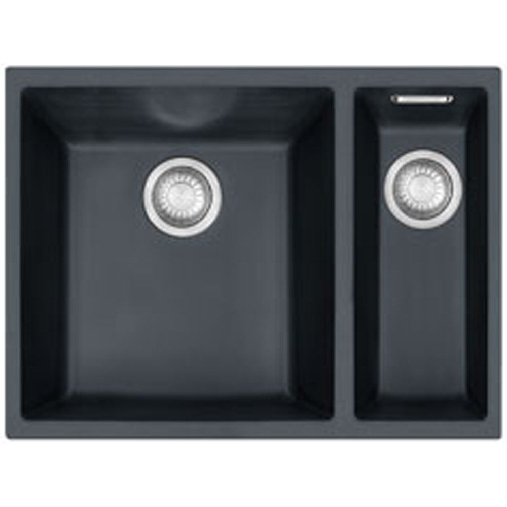 black undermount kitchen sinks. Franke Sirius 1 5 Bowl Onyx Black Tectonite Undermount Kitchen Sink SID160  BLK