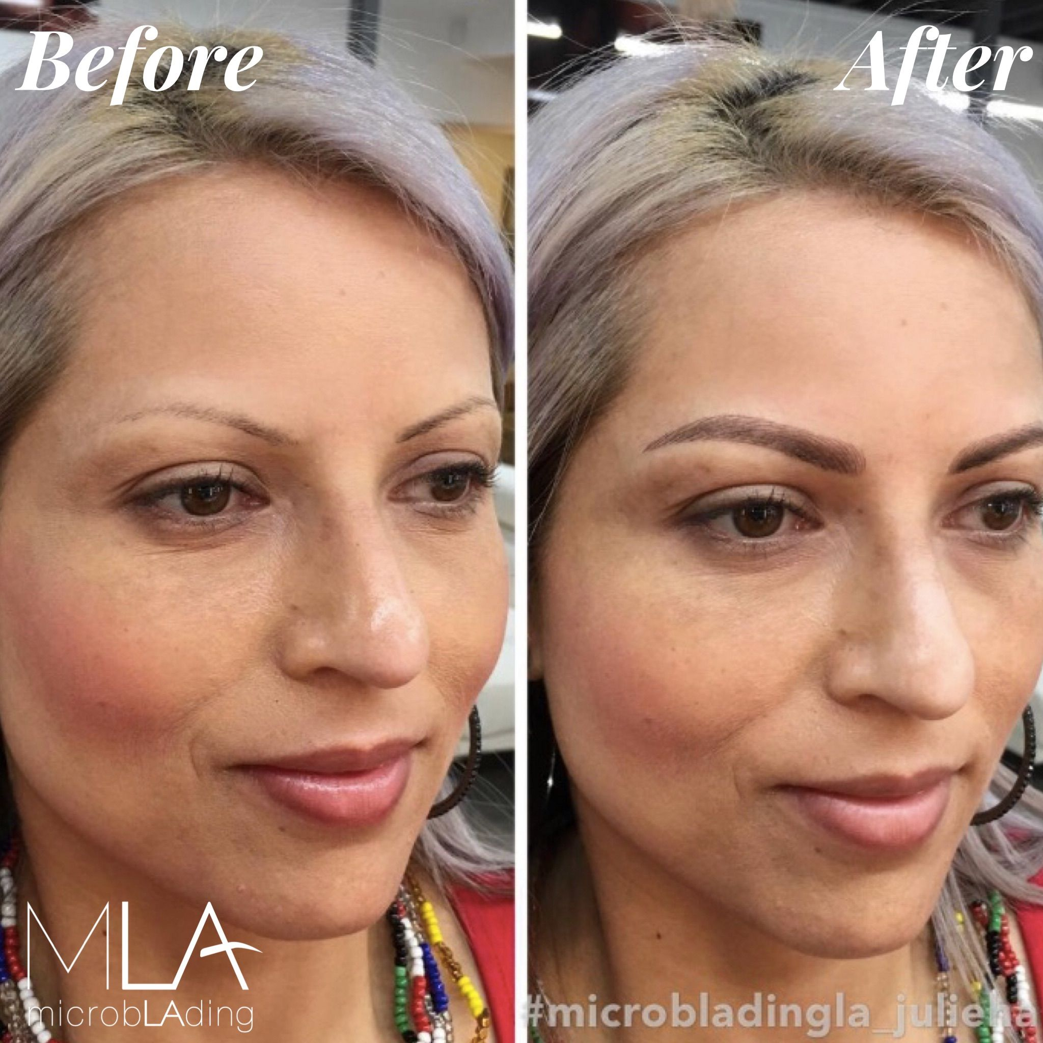 These brows were created by Master Artist Julie Ha! She's