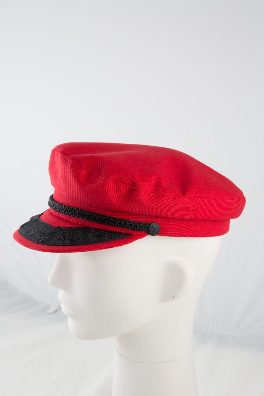 Classic Red Greek Fisherman s Hat Fiddler s Cap by Toukitsou  4296c717a08