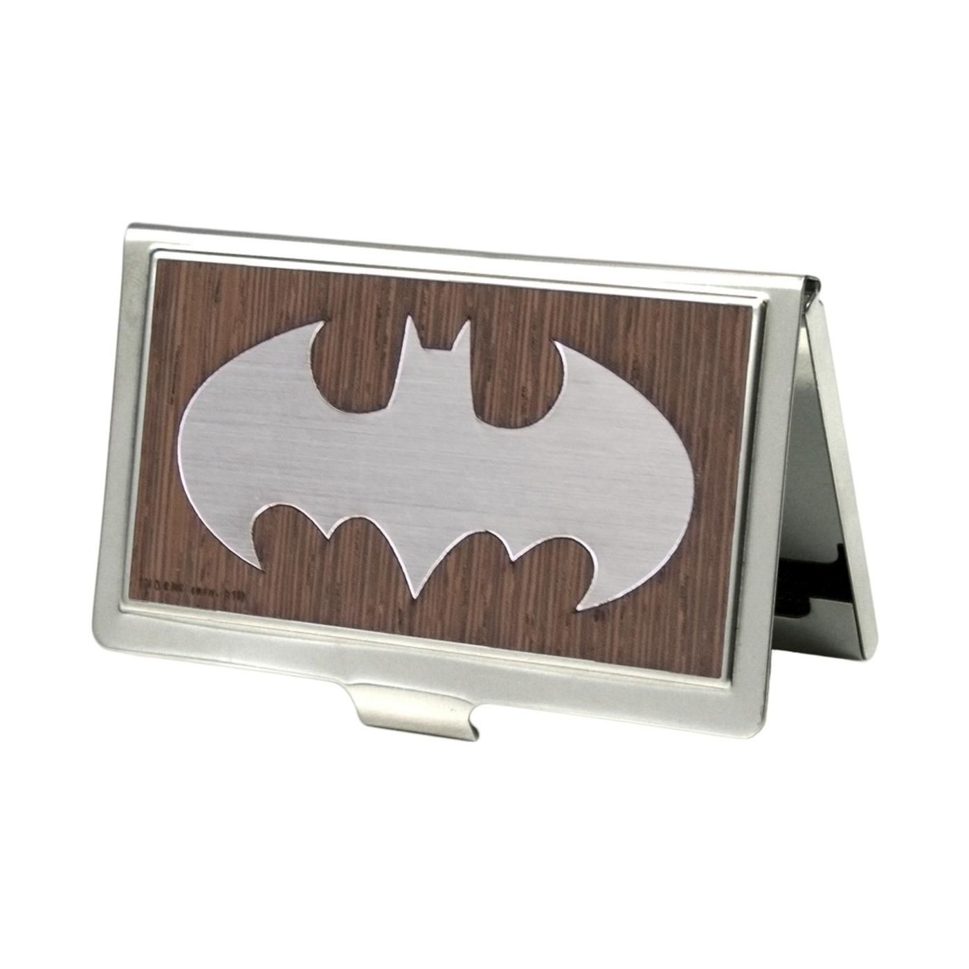 Buckle Down Men S Metal Dc Comics Batman Business Card Holder Bat