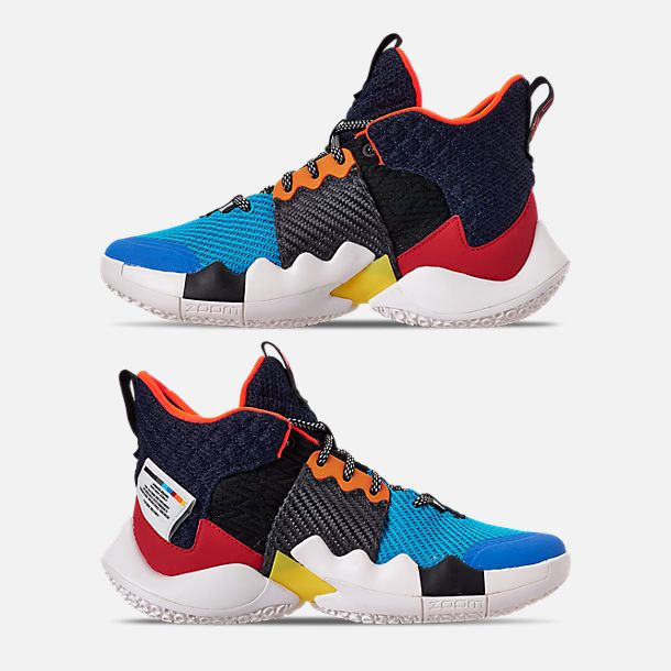 f07df29475d9 Nike Boys  Big Kids  Air Jordan Why Not Zer0.2 Basketball Shoes ...
