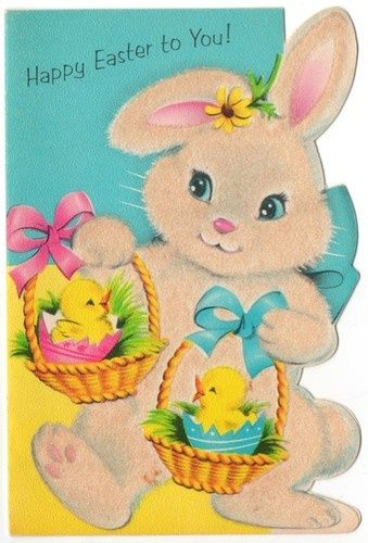 Easter Greeting Cards | bunny | Rabbits and Easter