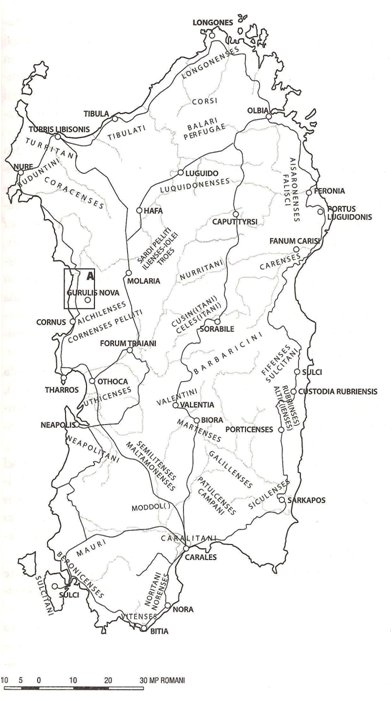 Cartina Sardegna Tharros.Cartine Della Sardegna Strade Romane Sardegna Mappe Antiche Vecchie Foto